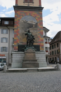 Le monument Tell à Altdorf