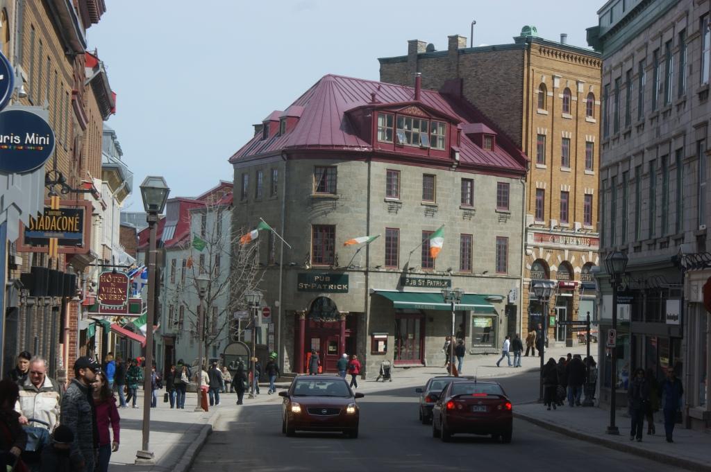 Le Saint-Patrick est un rendez-vous incontournable du Vieux-Québec.