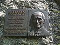 Plaque commémorative, Salvan