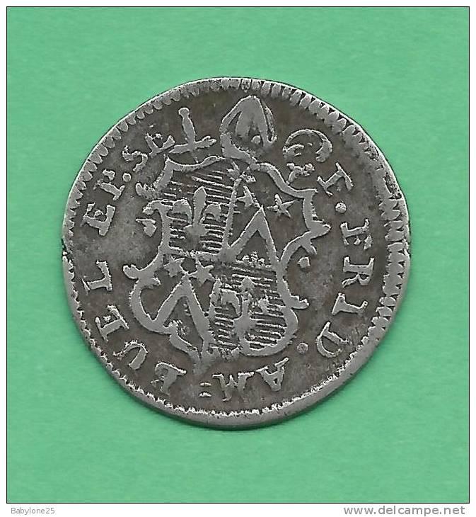 dernière monnaie épiscopale du Valais