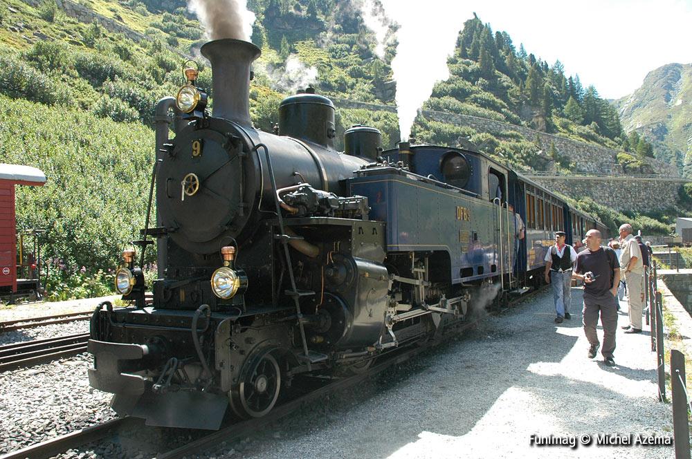 locomotive du Furka-Oberalp
