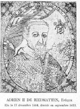 Adrien II de Riedmatten