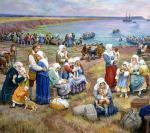 Départ des Acadiens