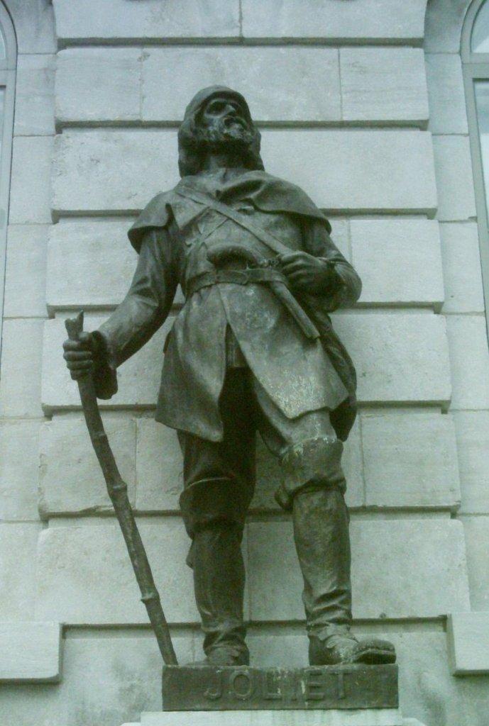 Statue de Louis Jolliet au Parlement de Québec