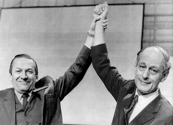 Gilles Grégoire & René Lévesque