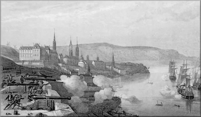 Attaque de la ville de Québec en 1690