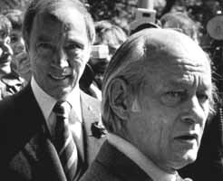 Pierre-Eliott Trudeau et René Lévesque