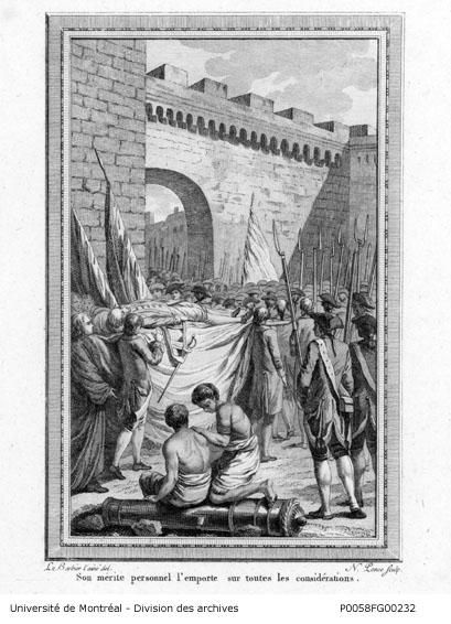 mort de Montgomery à Québec le 31 décembre 1775