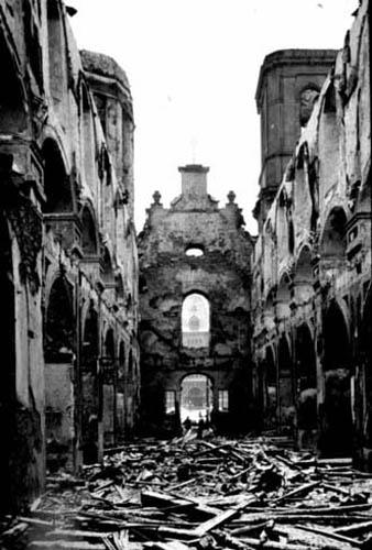 Restes de la basilique