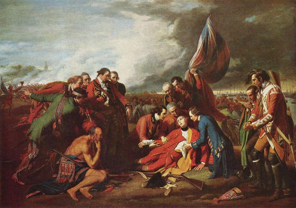 James Wolfe meurt sur les plaines d'Abraham.