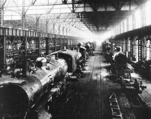 Les usines Angus à Montréal