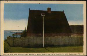 Premier poste de traite de Pierre de Chauvin à Tadoussac