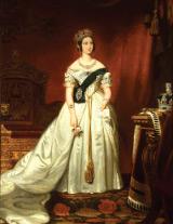 Portrait de la reine Victoria au Parlement à Ottawa