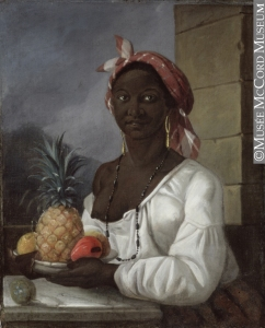 Portrait d'une des dernières esclaves noires de Montréal