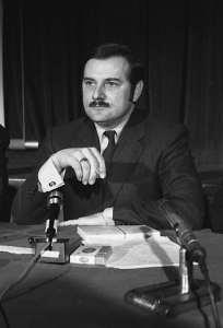 Le ministre de l'Éducation, Jean-Guy Cardinal