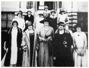 Les suffragettes de 1922