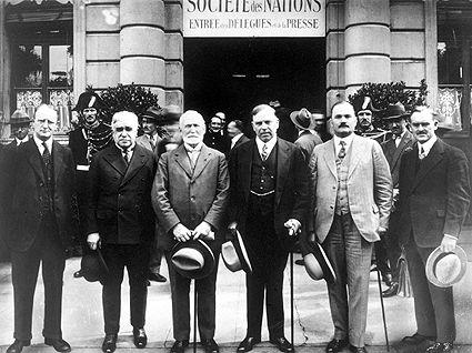 Délégation canadienne à la SdN en 1928