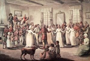 Danse au château Saint-Louis en 1801