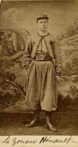 Le zouave Hénault