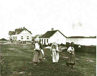Immigrants à la Grosse-Île