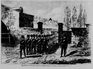 La Royal Artillery