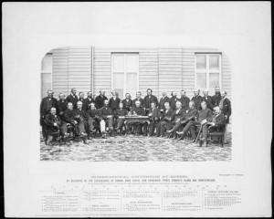 Participants à la conférence de Québec en 1864