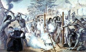 Torture de Jean de Brébeuf et de Gabriel Lallemant