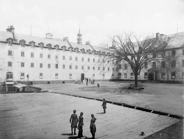 Petit séminaire de Québec vers 1920