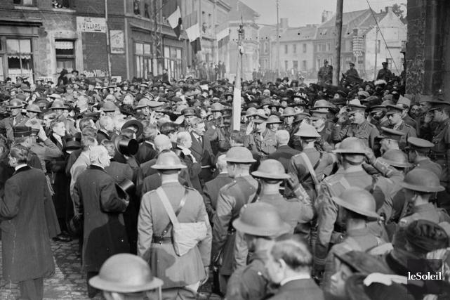 Émeutes en ville de Québec