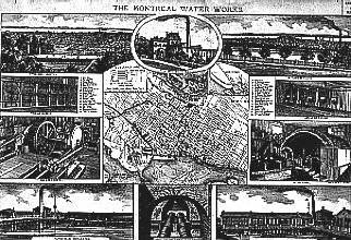 Premier aqueduc de Montréal