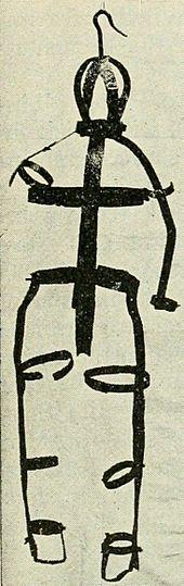 e gibet de fer dans lequel le corps de Marie-Josephte Corriveau a sans doute été exposé après son exécution (la « cage » de la Corriveau)
