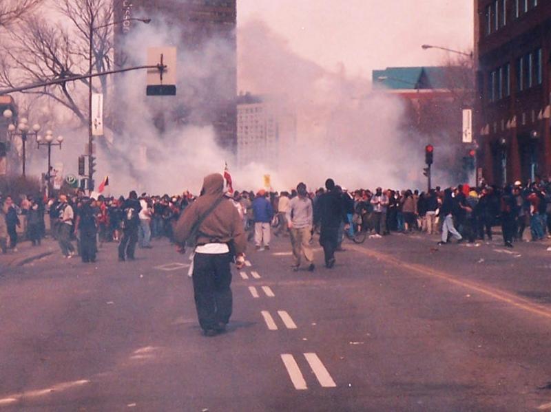 Les rues de Québec s'embrasent