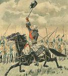 Le chevalier de Lévis ralliant son armée