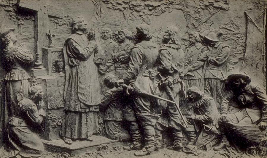 Monument de Maisonneuve à Montréal