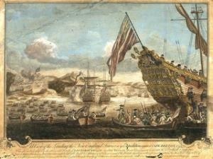 Prise de Louisbourg en 1745