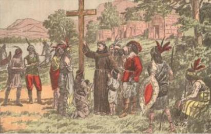 Père Joseph Le Caron et Champlain