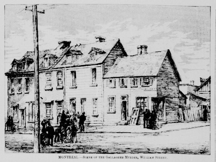 La maison où a eu lieu le crime de Mary Gallagher