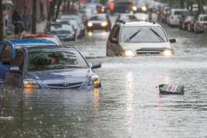 Montréal est sous l'eau.