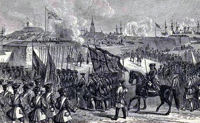La capitulation de Louisbourg