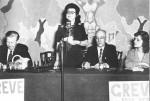 Madeleine Parent s'exprimant durant la grève de 1946