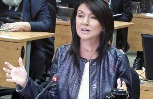 Nathalie Normandeau devant la commission Charbonneau (devoir.com)