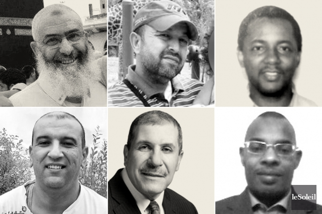 Les six victimes (lapresse.ca)...
