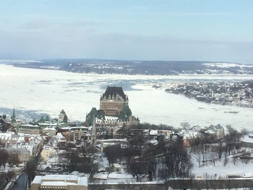 Le Vieux-Québec vu du Ciel